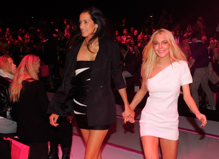 Estrella Archs and Lindsay Lohan