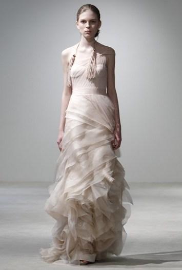 Vera Wang Bridal 2011 Spring