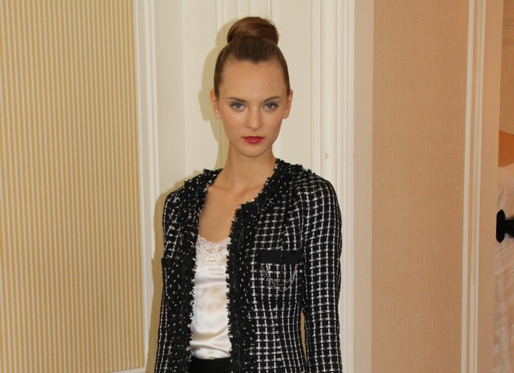 A look from White House Black Market Fall 2010.