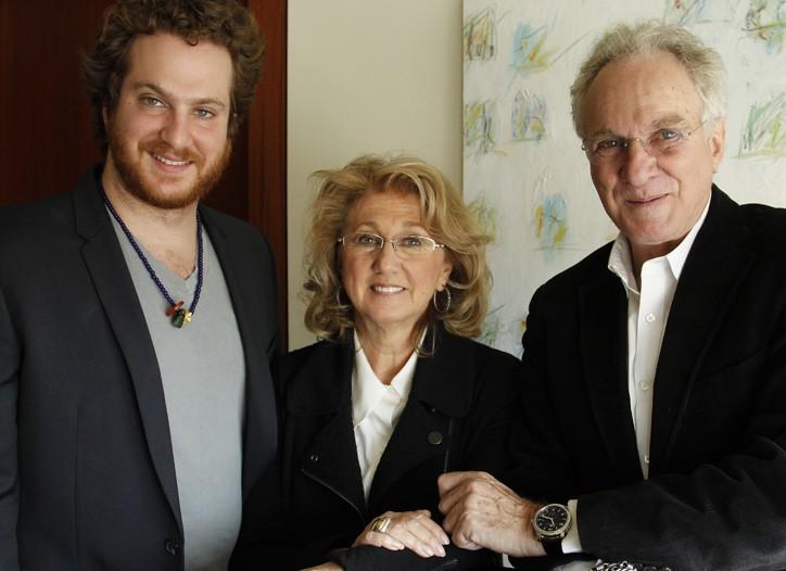 Evan, Sybil and David Yurman in their Tribeca headquarters.