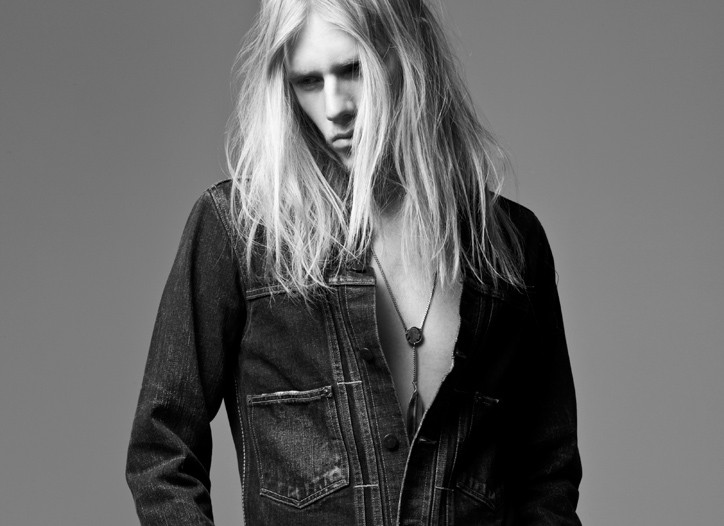 The ultraskinny jean prevails for fall, showcasing traditional dark denim, black, gray and the Eighties-inspired acid wash, allowing for the inner rocker to emerge.