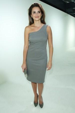 Penelope Cruz in Calvin Klein.