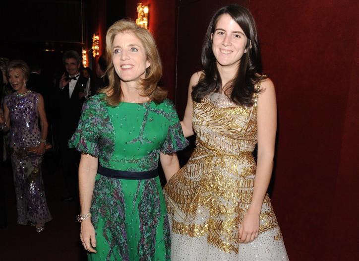 Caroline Kennedy and Tatiana Schlossberg