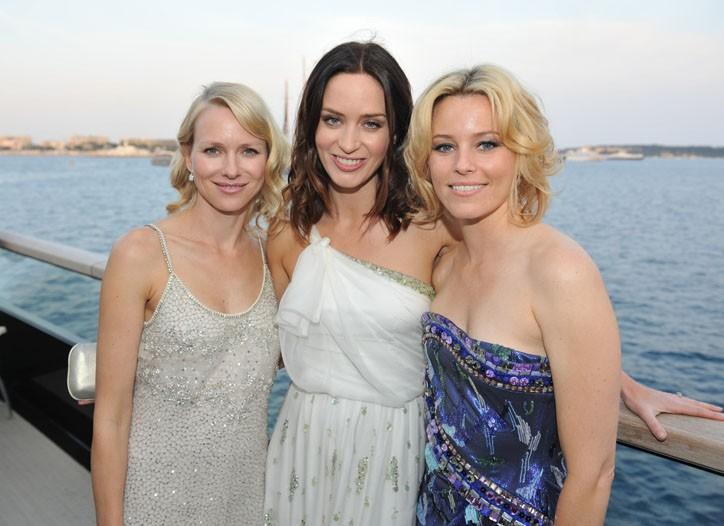 Naomi Watts, Emily Blunt and Elizabeth Banks