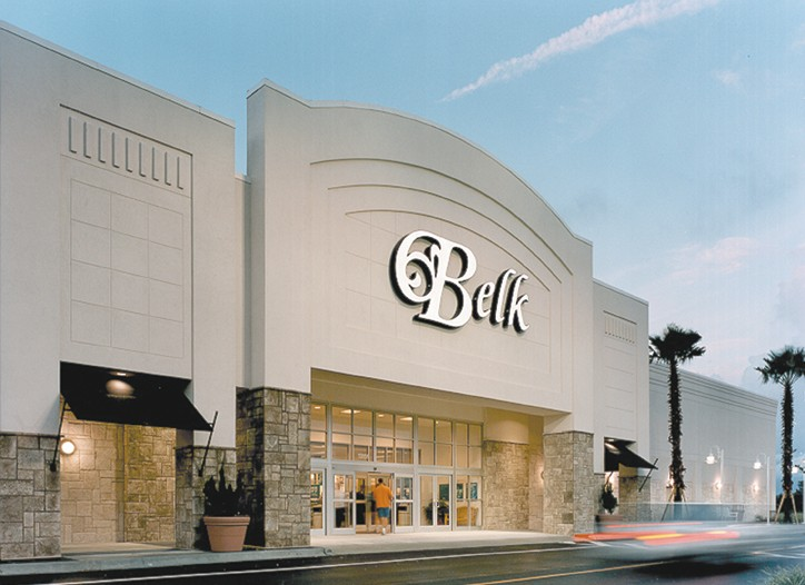 Belk's net income was $67.1 million last year.