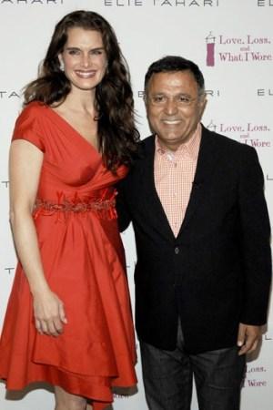 Brooke Shields and Elie Tahari