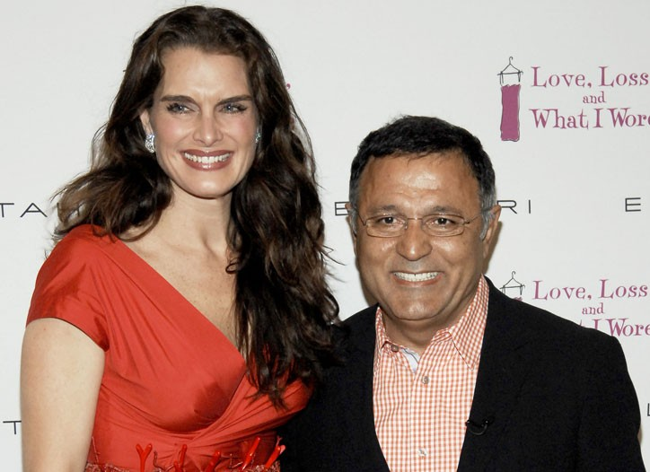 Brooke Shields and Elie Tahari