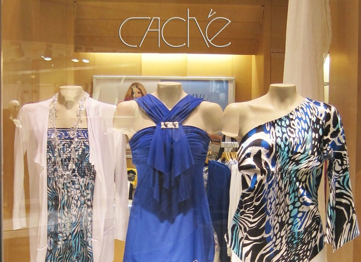 Caché saw a loss of $4.1 million in the quarter.