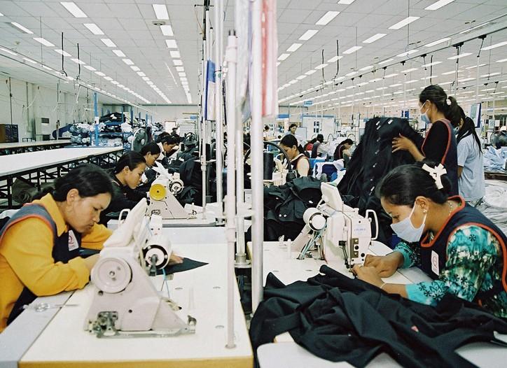 Cambodia's exports fell 20 percent last year.