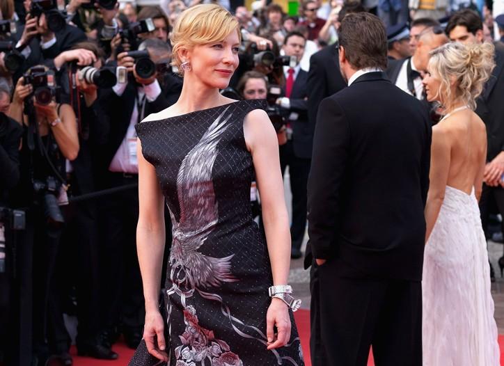 Cate Blanchett in Alexander McQueen.