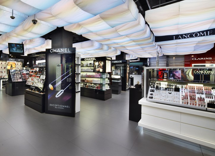 Coin's beauty department at its Piazza 5 Giornate store in Milan.