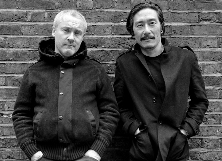 Damien Hirst and Michael Joo