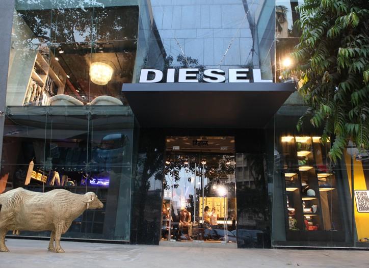 A Diesel store.