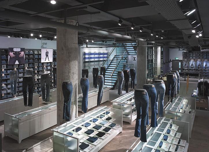 Levi's new Regent Street flagship.