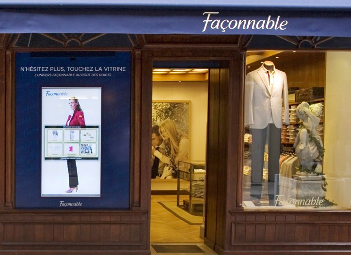 Façonnable's collection will continue to be overseen by an international design team.
