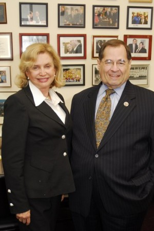 Reps. Carolyn B. Maloney and Jerrold Nadler.