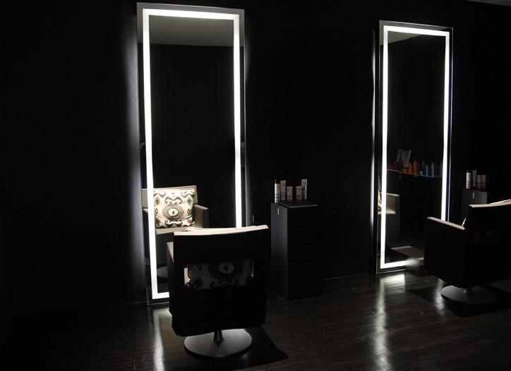 Inside the Ferretti salon.
