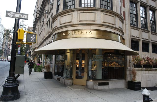 Jeweler Fred Leighton's store at 773 Madison Avenue.Fred Leighton Madison Avenue, New York