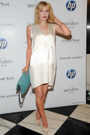 Courtney Love in Narciso Rodriguez.