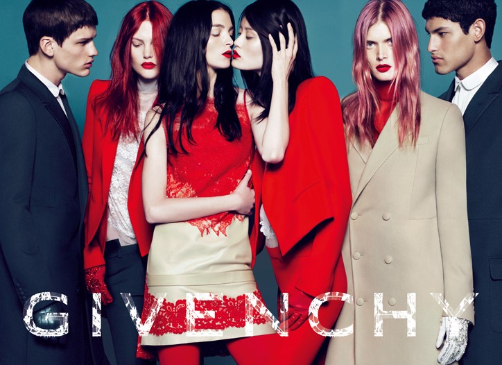 An image from Givenchy's fall-winter 2010 campaign.
