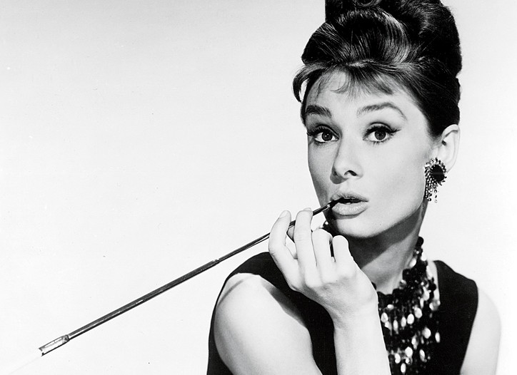 "Frida Giannini has drawn plenty of inspiration from classic movies. Here, Audrey Hepburn in ""Breakfast at Tiffany's."""