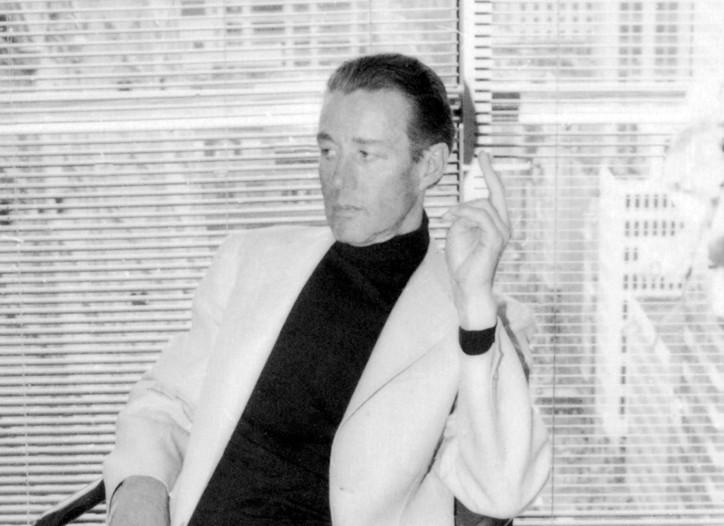 Halston in 1983.
