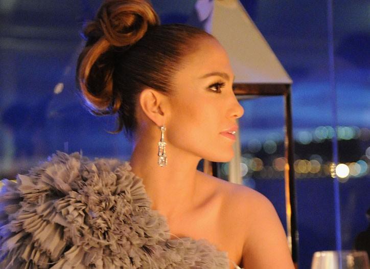 Jennifer Lopez in Gucci.