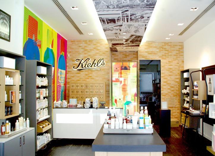 Kiehl's new Milan store.