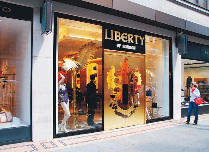 Liberty of London store.