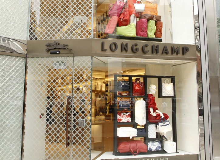 Longchamp's revamped store on Madison Avenue.