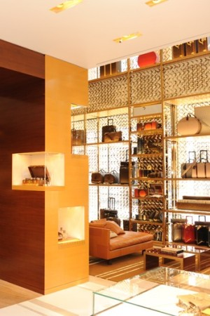 A view of the Louis Vuitton Maison store in London.