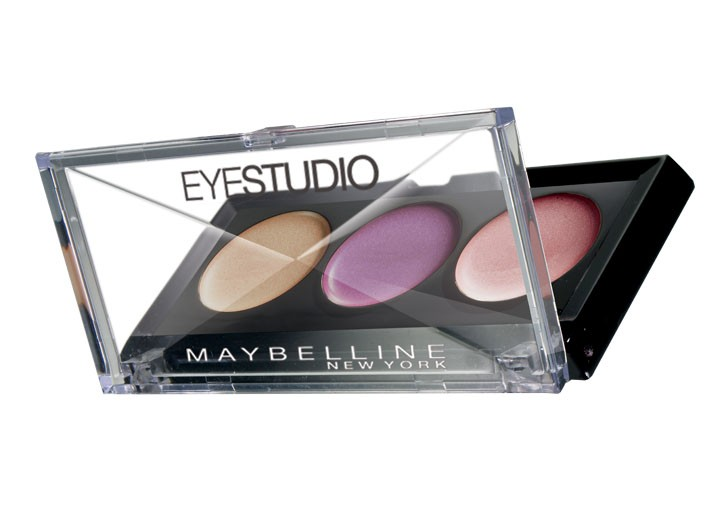 Maybelline New York's second-half items include a lipstick, eye shadow and mascara offering.