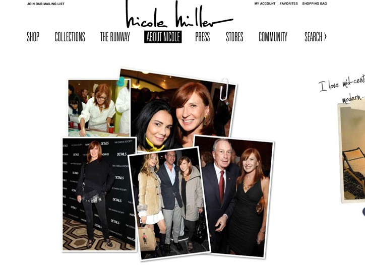 Looks from the Nicole Miller web site