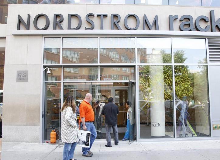 Nordstrom Rack on Union Square.
