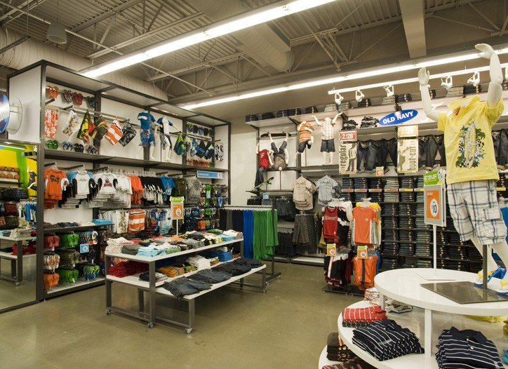 The remodeled Old Navy in Cedar Hills, Tex., outside Dallas.
