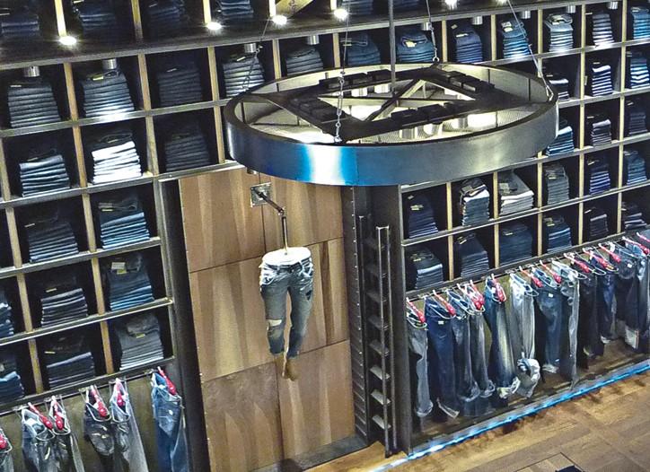 Replay's revamped Milan store opened in April.