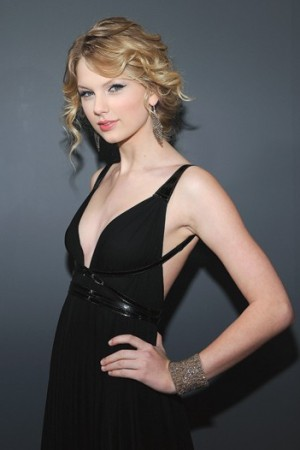 Taylor Swift at the Grammys.