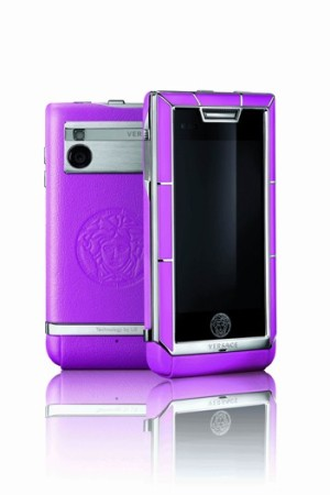Versace's first touch-screen luxury mobile phone, Unique.