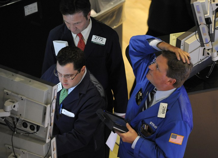 The Dow Jones Industrial Average dropped on Wednesday.