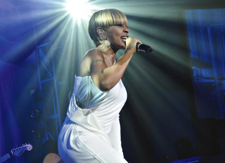 Nine-time Grammy Award winner Mary J. Blige is as devoted to her fans as they are to her