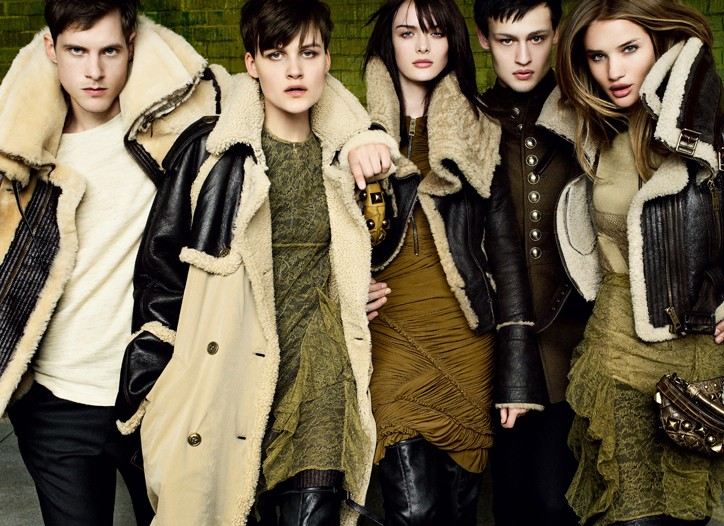Burberry Fall Winter 2010 Ad Campaign