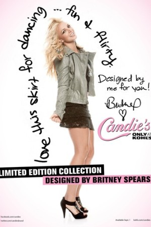 "The ""Britney for Candie's"" campaign includes television, print, outdoor and online components."