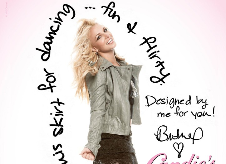 """The """"Britney for Candie's"""" campaign includes television, print, outdoor and online components."""