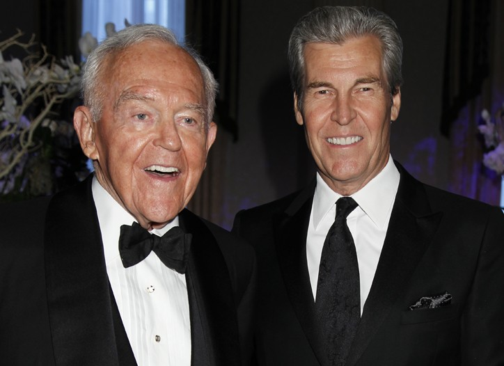 Henry Segerstrom and Terry Lundgren