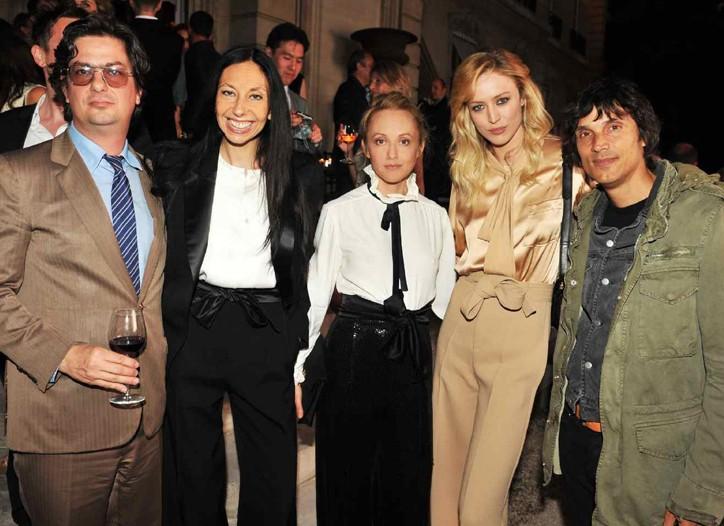 Roman Coppola, Inez Van Lamsweerde, Hannah MacGibbon, Raquel Zimmermann, Vinoodh Matadin.