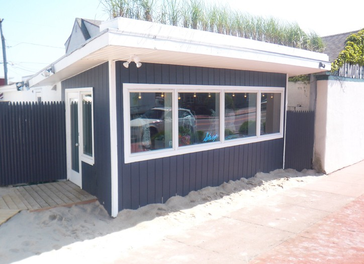 Cynthia Rowley's new store in Montauk.