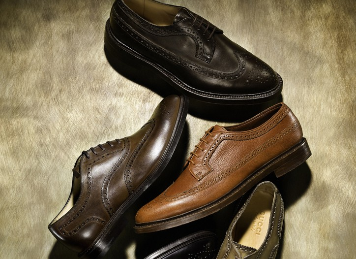 Clockwise from top: Thom Browne, Florsheim by Duckie Brown, Gucci, To Boot New York and Church's English Shoes.