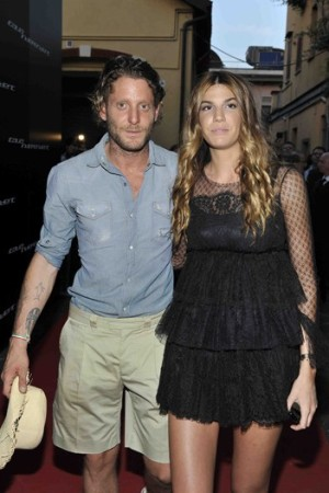 Lapo Elkann and Bianca Brandolini D'Adda