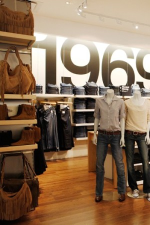 Gap finished 12th in a study of 158 retailers' financial well-being.