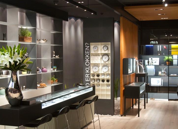 The new Georg Jensen store in Shanghai.